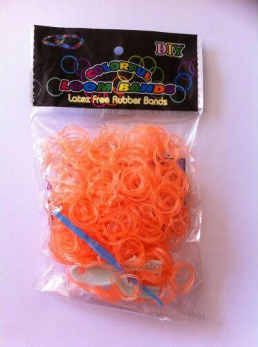 ENVIRON 600 Loom Bands PIECES LATEX bande de caoutchouc kit pour enfants en différentes couleurs