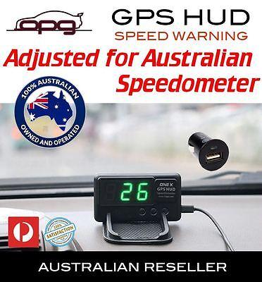 PLUG & PLAY HEAD-UP DISPLAY HUD INTERNAL GPS 12 VOLT DIGITAL LED SPEEDO WARNING