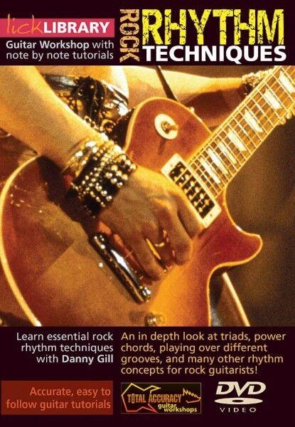 Danny Gill Rock Rhythm Guitar Techniques Lick Library DVD | eBay
