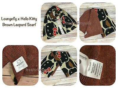 New Girls Hello Kitty Pink Floral Polks Dot Scarf Fleece Fabric 60 L 7 1//2 W