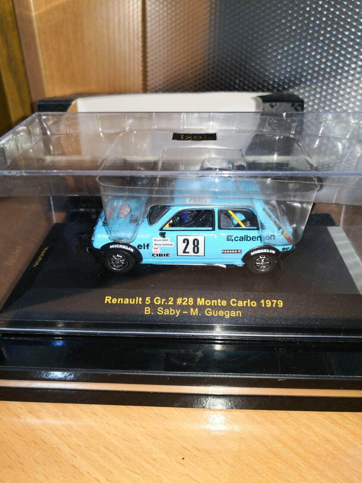 Renault 5 gr.2 28  ixo 1/43