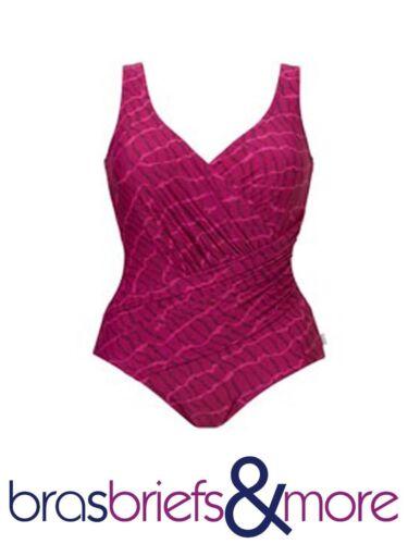 Tummy Control Swimsuit in Fuchsia Pink From Tweka
