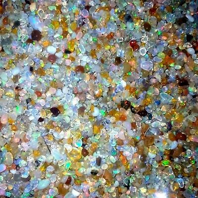 100/% Natural Super Welo Fire Ethiopian Opal Rough Gemstone Lot 2to4 mm R-306