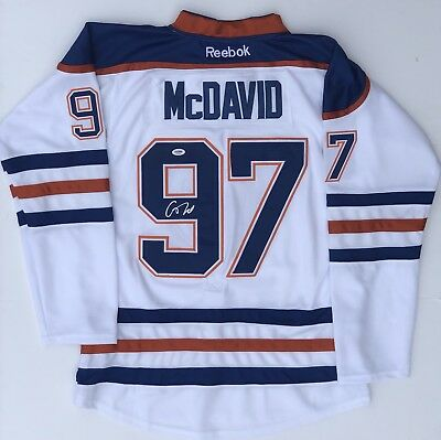 meet 5f469 554c8 PSA/DNA Edmonton Oilers #97 CONNOR MCDAVID Signed Autographed Hockey Jersey  | eBay