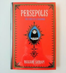 Signed 1st Edition Persepolis By Marjane Satrapi Hardcover Ebay