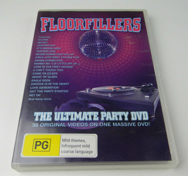 Floorfillers - The Ultimate Party DVD (DVD, 2006)