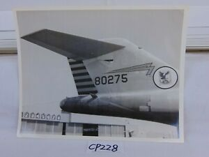 VINTAGE-US-AIR-FORCE-443RD-PHOTO-PICTURES-1940-039-S-AIR-PLANE-TAIL-FIN-80275