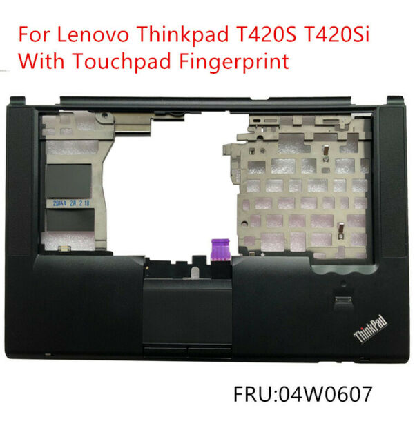 New Replacement for Lenovo ThinkPad T420S T420Si Palmrest Upper Case Keyboard Bezel Cover with Touchpad 04W1452