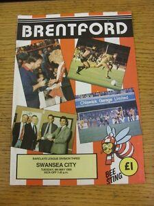 09051989 Brentford v Swansea City   Unless stated previously in the descripti - Birmingham, United Kingdom - 09051989 Brentford v Swansea City   Unless stated previously in the descripti - Birmingham, United Kingdom