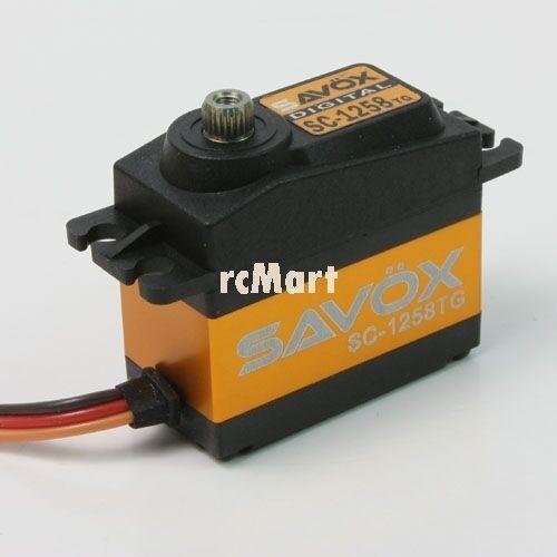 SAVOX Super  Speed Titanium Gear Digital Servo 1 10 RC auto On Off strada  SC-1258TG  il più alla moda