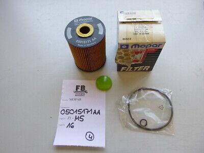 JEEP GRAND CHEROKEE II 2 WJ WG 3.1 TD 4x4 Ölfilter Mopar 05015171AA Original OEM