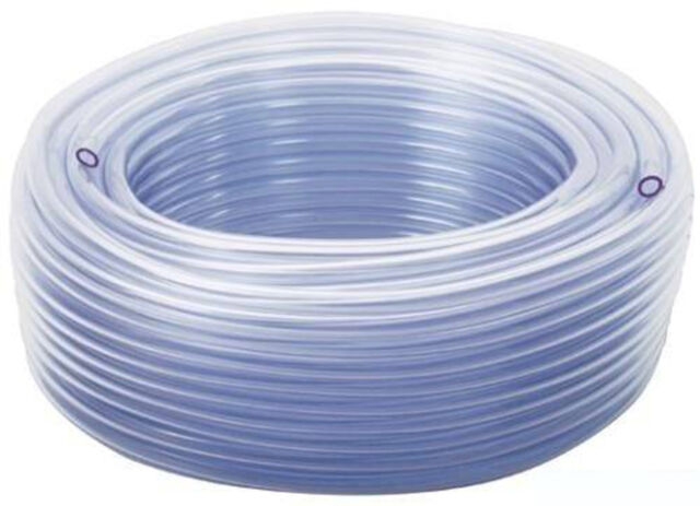 2 METRES TUBE 4X6 transparent Flexible funnel with Hose Doesn'T Toxic hose