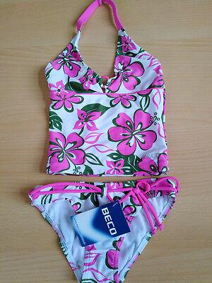 Ausdauernd Beco Kinder Tankini Zweiteiler Bikini Gr. 116, 128, 140, 152