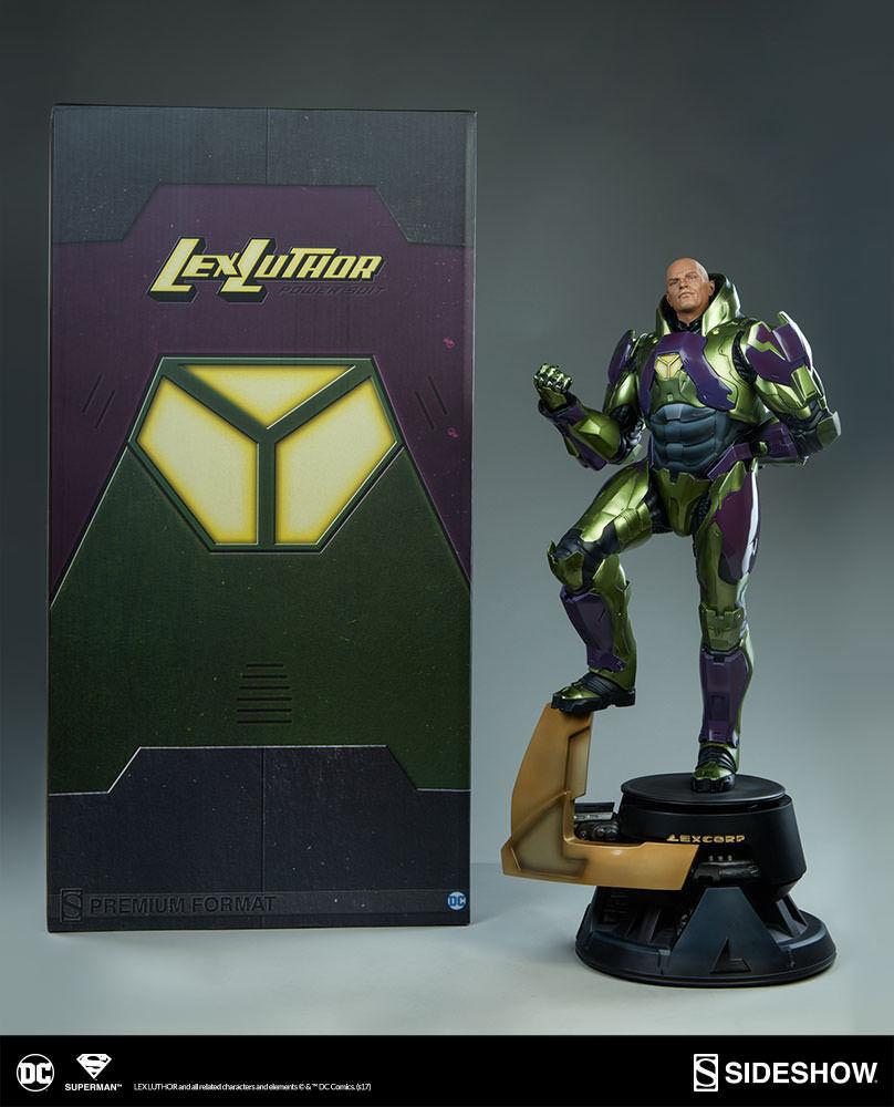 Dc súperman Comics  Lex Luthor Power Suit Premium Format Figura Statue Sideshow