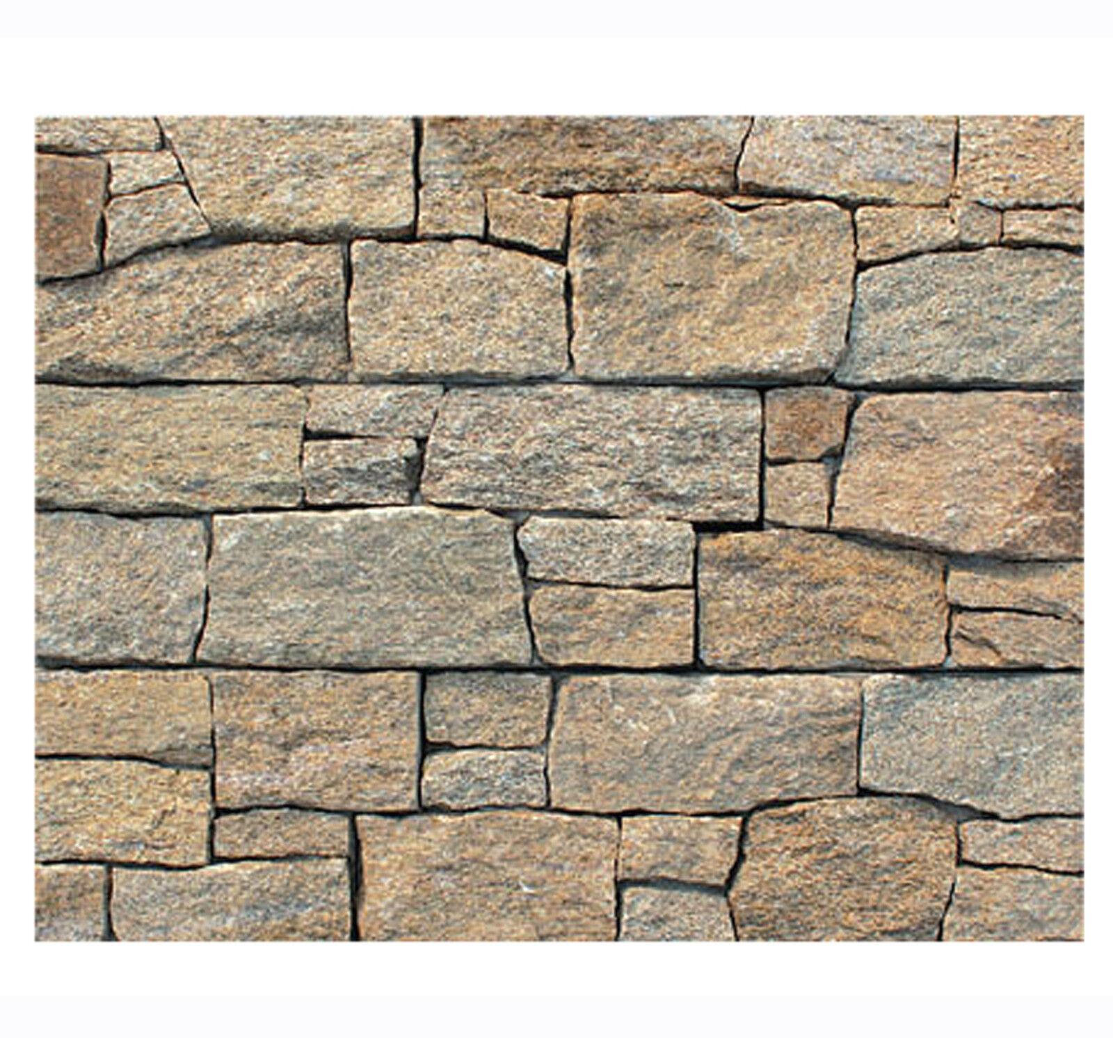 1 qm Granit Wandverblender W-003 - Natursteinwand Wanddesign Wandverkleidung