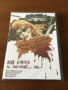 NO-VAYAS-AL-BOSQUE-SOLA-ED-1-DVD-NUEVO-EMBALADO-NEW-SEALED-78-MIN-RARA