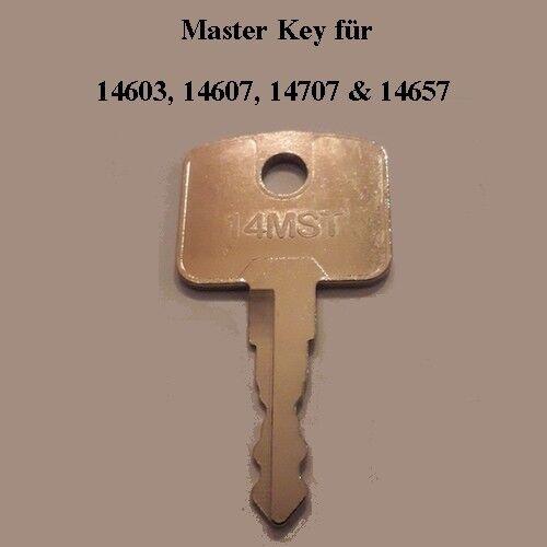 14607 14603 14707 14657 Minibagger.. #11 Baumaschinenschlüssel Master Key Nr