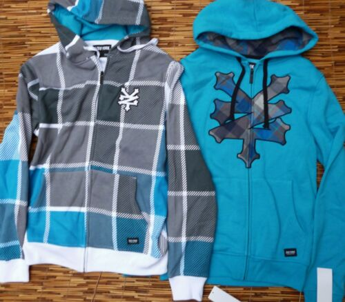 ZOO YORK MENS LOGO COTTON//POLYESTER ZIP-UP HOODIE PICK STYLE /& SIZE LIST $56