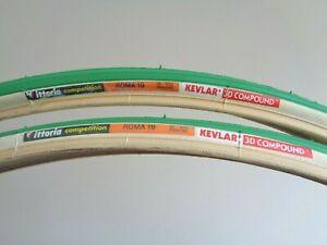 Rare-NOS-Vintage-VITTORIA-039-ROMA-19-039-Competition-700-x-19C-clincher-tyres