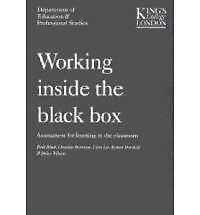 1 of 1 - Working Inside the Black Box: Assessment for Learning in the Classroom by Bethan