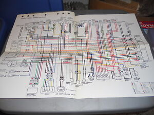 yamaha wiring diagram yx600s yx600sc   ebay  ebay