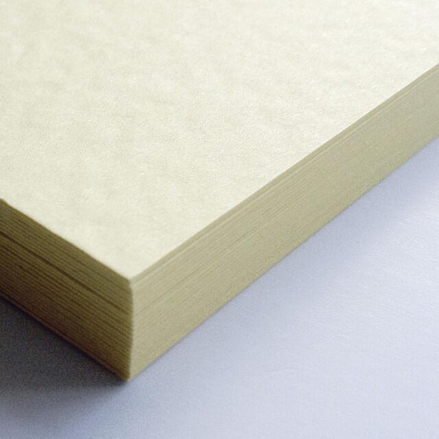 A4 Sheets Textured Hammer Linen 100gsm Craft Paper Stock Pack (Zanders Zeta)
