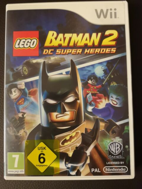 LEGO Batman 2 - DC Super Heroes (Nintendo Wii, 2012, DVD-Box)