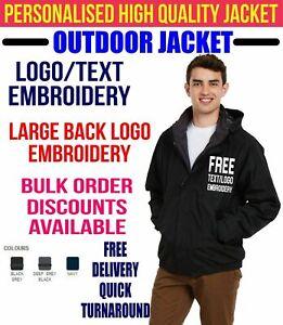 Personalised Embroidered Softshell Jacket HAIRDRESSER workwear UNIFORM LOGO