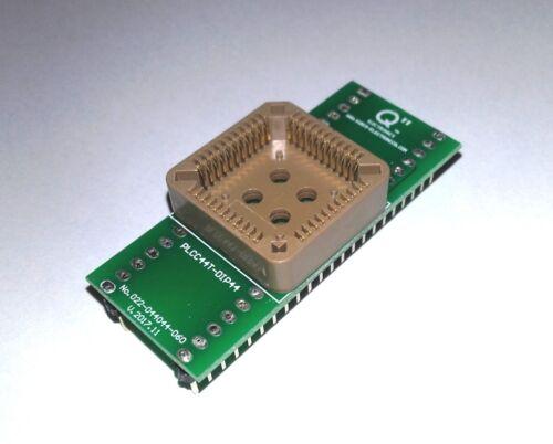 """DE Adapter PLCC44T auf DIP44 0.6/""""."""