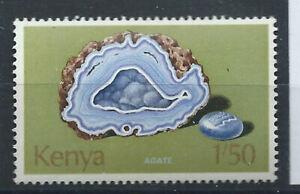 Kenya-N-103-MNH-1977-Mineraux-034-Agate-034