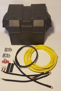 Integra Yellow Battery Relocation B Series Kit w//Battery Box