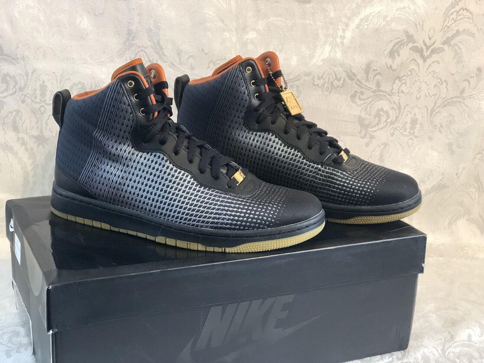 New Men's Sz 11 Nike KD VIII Kevin Durant 8 shoes NSW Lifestyle 749637-001 Black