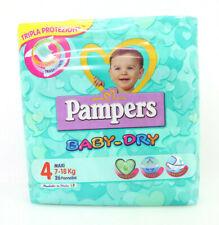 Pampers-Dry 4 Mini Maxi 7 18 kg 26 26 Windeln Baby Dry Trocken Dreischichtig