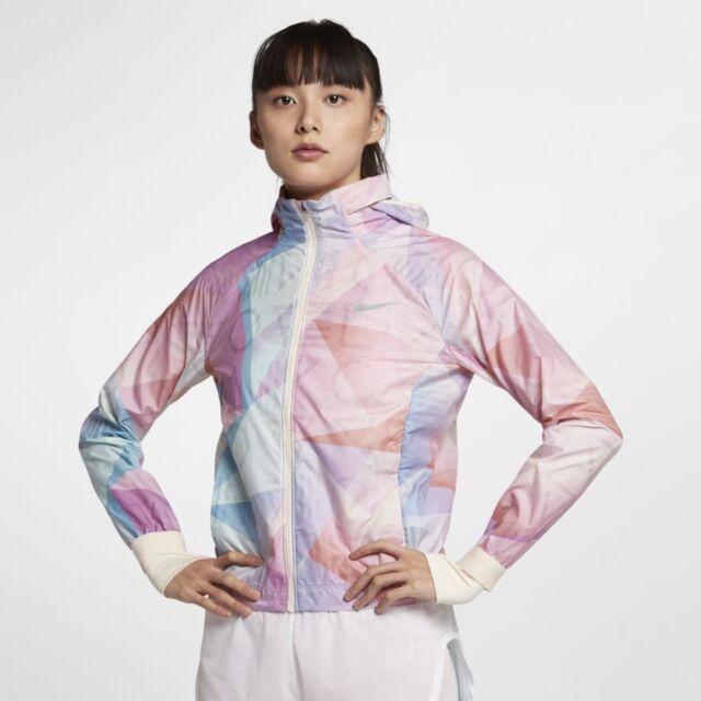 Women's Running Jacket Nike Shield Flash MEDIUM 929119-838 ...