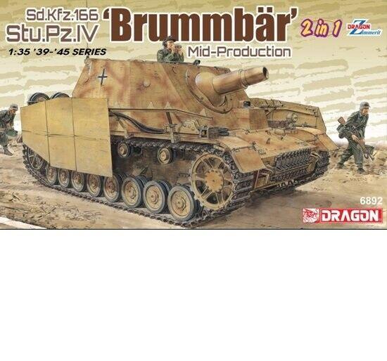 Dragon 1 35 Brummbar Mid-Production [2in1]