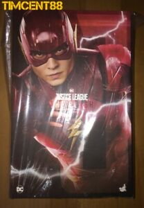 Ready-Hot-Toys-MMS448-Justice-League-The-Flash-Ezra-Miller-1-6-Figure-New