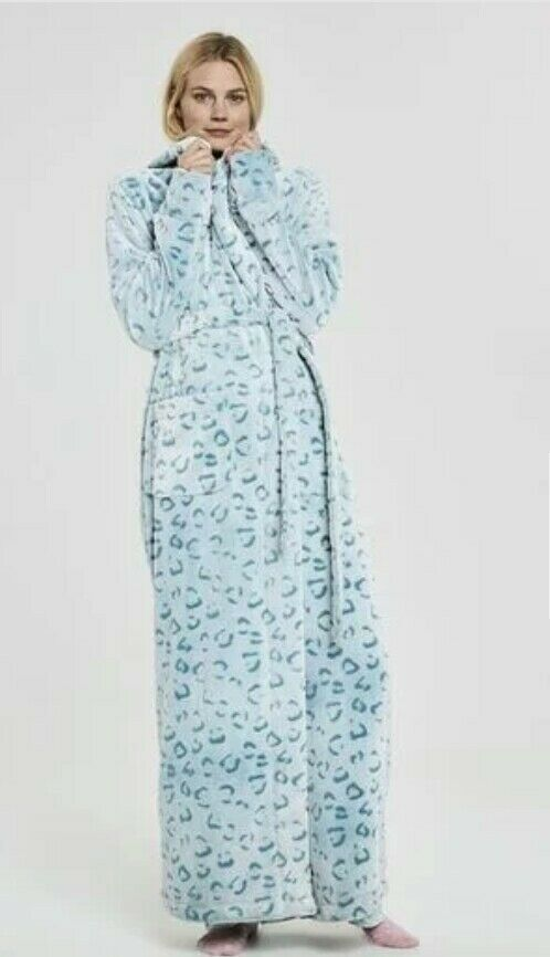 Long tall sally hood Dressing Gown Robe Size small 12 14