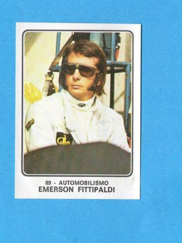 AUTOMOBILISMO-Rec FITTIPALDI CAMPIONI dello SPORT 1973//74-Figurina n.89