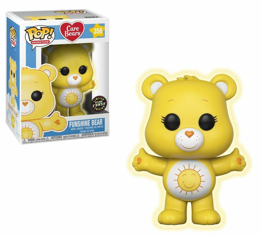 Care Bears - Funshine Bear Glow Chase POP  Vinyl