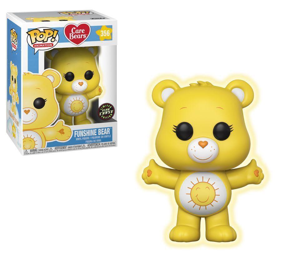 Care Bears - Funshine Bear Glow Chase POP  Vinyl
