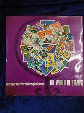 THE WORLD IN STAMPS - FABBRI & PARTNERS 1969 - H/B WITH JACKET - UK POST £3.25