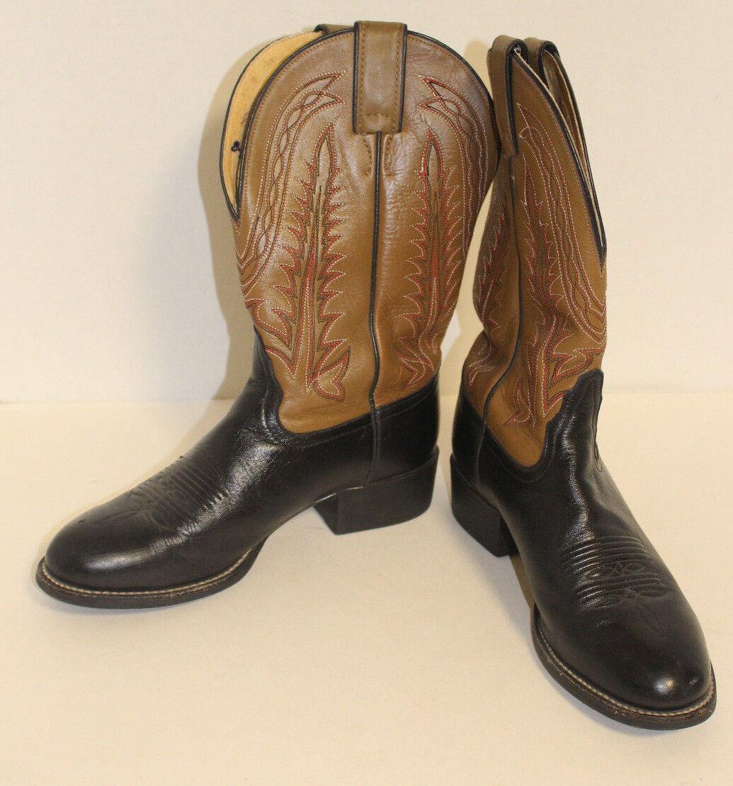 solo per te donna TONY LAMA Two Tone Marrone Leather Western Cowboy stivali stivali stivali Dimensione 6.5 B  risparmia il 50% -75% di sconto