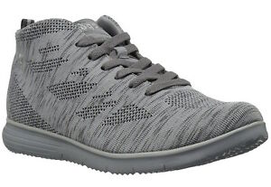 9f7125f7b9876 Womens Propet Travelfit HI Walking Shoes - Light Grey Size 9.5D (W ...