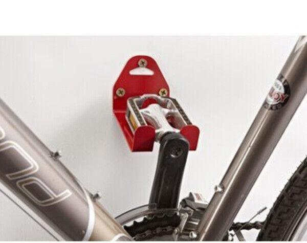 Porta bici a parete aggancio pedale mottez Portabici da muro B215V bicicletta