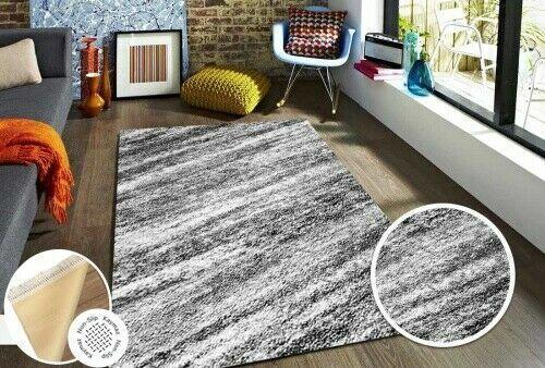 Waschbarer TeppichLatex100/% PolyesterGrau