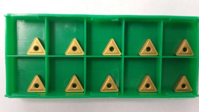 10 pcs. TNMG-322 Grade C2 Carbide Inserts