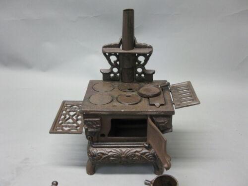 Vintage puppenherd muñecas horno decorativas horno küchenhexe 25 cm hierro fundido 4,5 kg