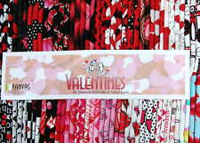 "80 18""x22"" Fabric Fat Quarters - Benartex Valentine's Day Assortment"
