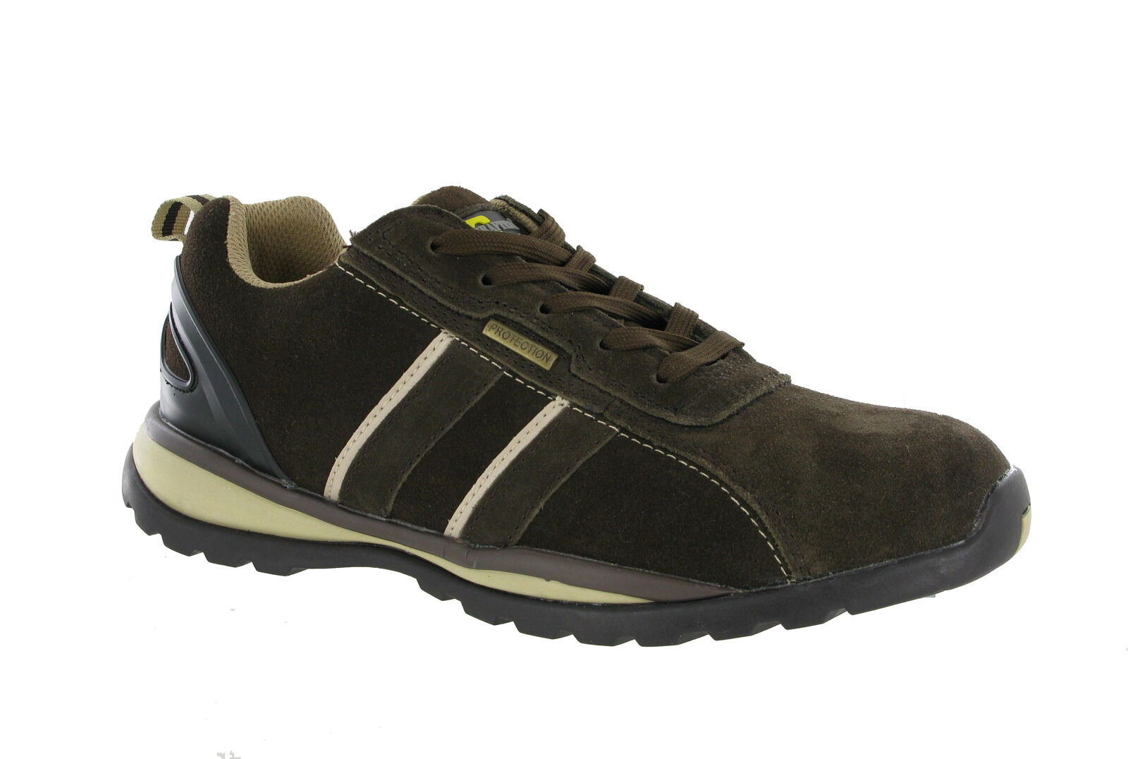 Grafters Lightweight Steel Toe Cap Safety Trainers Mens