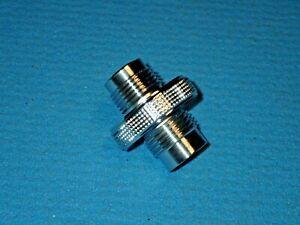 Adapter Pressluft DIN G5/8 zu Nitrox M24 x 2, Länge 47 mm, neu, %90